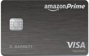 Chase Amazon Prime Credit card