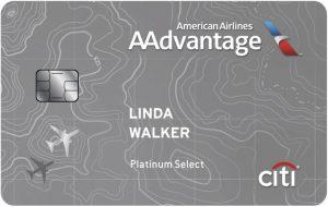 Citi American AAdvantage platinum select credit card