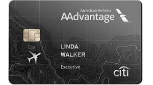 Citi American Aadvantage Executive World elite Credit Card