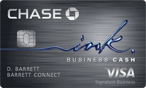 Chase Ink Business Cash Credit Card