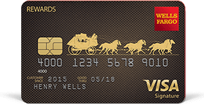 Wells Fargo Visa Rewards