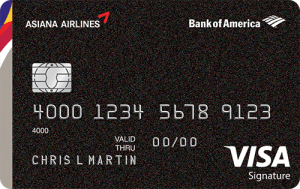 Bank of America Asiana Credit Card