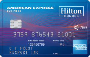 American Express Hilton Honors Business Credit Card