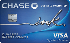 Chase Ink Unlimited Credit Card
