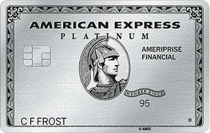 American Express Platinum Ameriprise Card