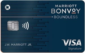 Chase Bonvoy Boundless Credit Card