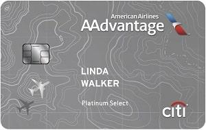 Citi American Aadvantage Platinum Credit Card