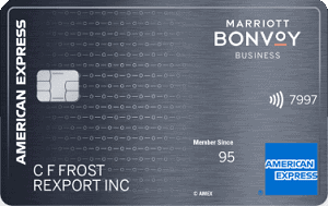 Marriott Bonvoy Business Amex Credit Card
