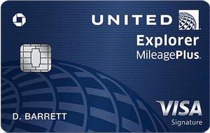 Chase United Explorer Credit Card