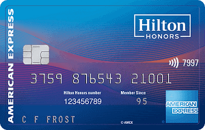 American Express hilton honors ascend