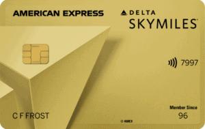 Gold Delta SkyMiles Amex