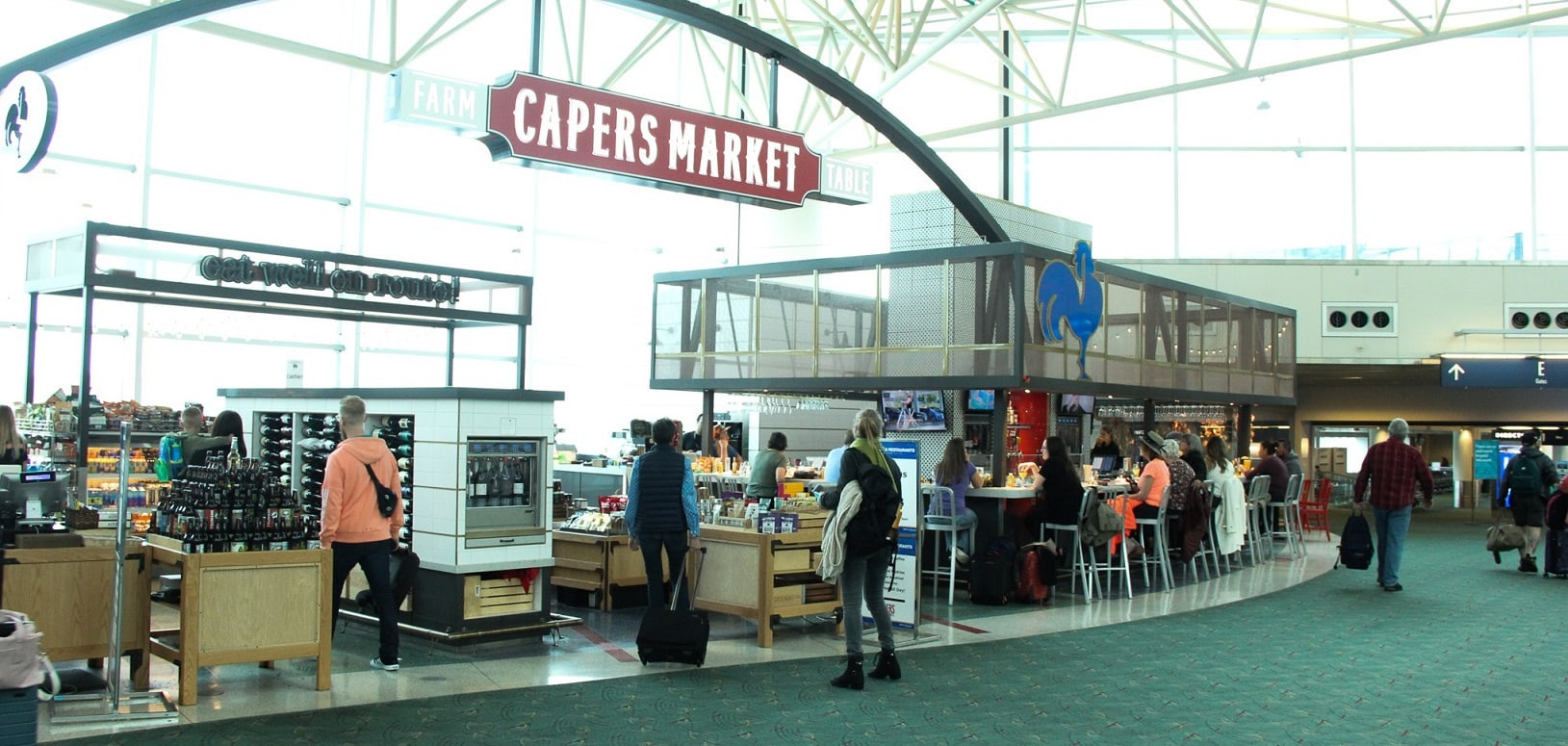 Capers Market joins priority pass