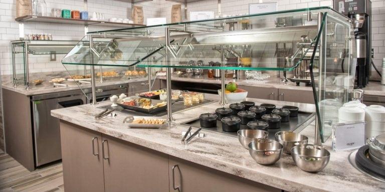 Escape Lounge Food Buffet
