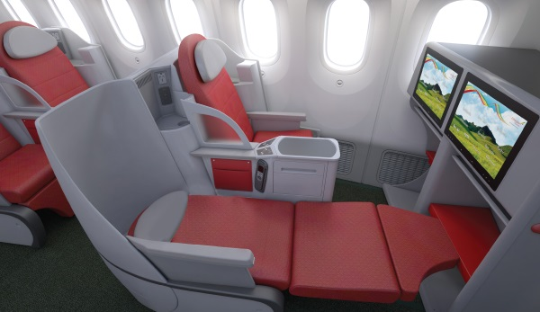 Ethiopian Airlines Cloud Nine Business class