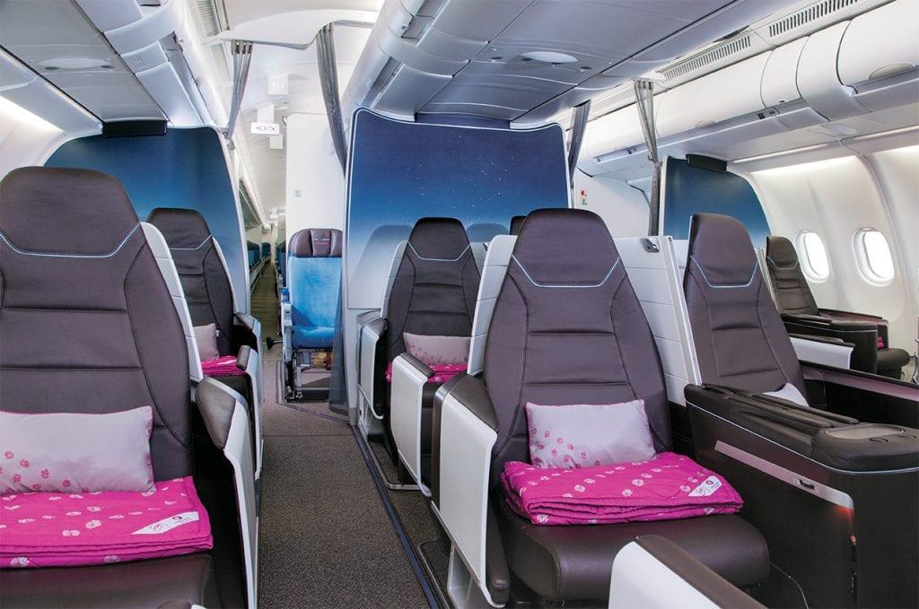 Hawaiian Airlines First Class 1
