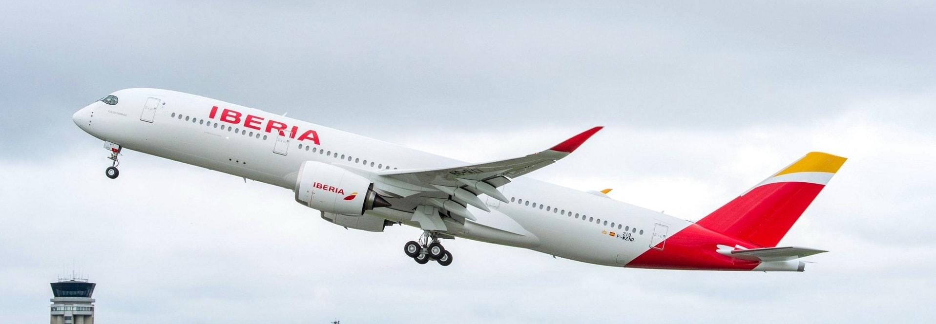 Iberia's A350 plane