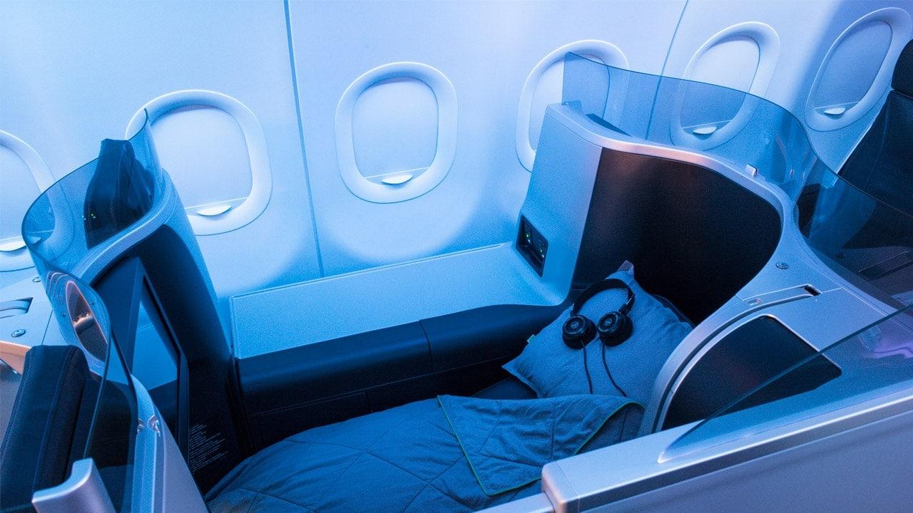 JetBlue Mint lie-flat