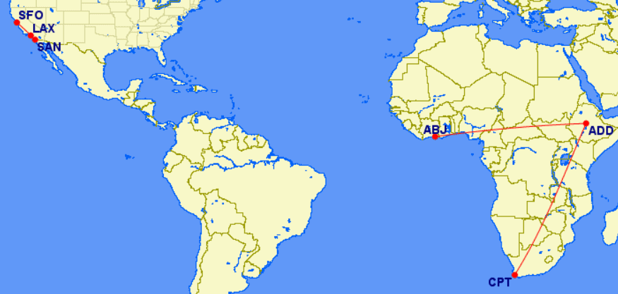 United excursionist perk route map