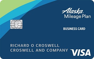 Alaska Airlines Business Visa Bank of America