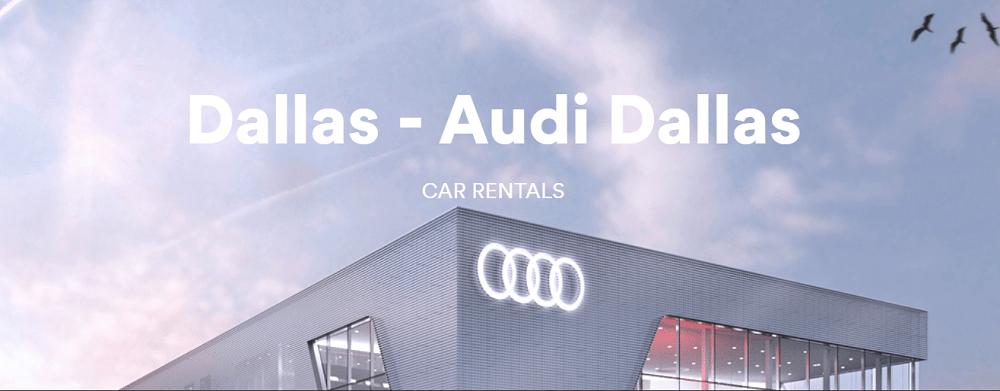 Silvercar Audi Dallas