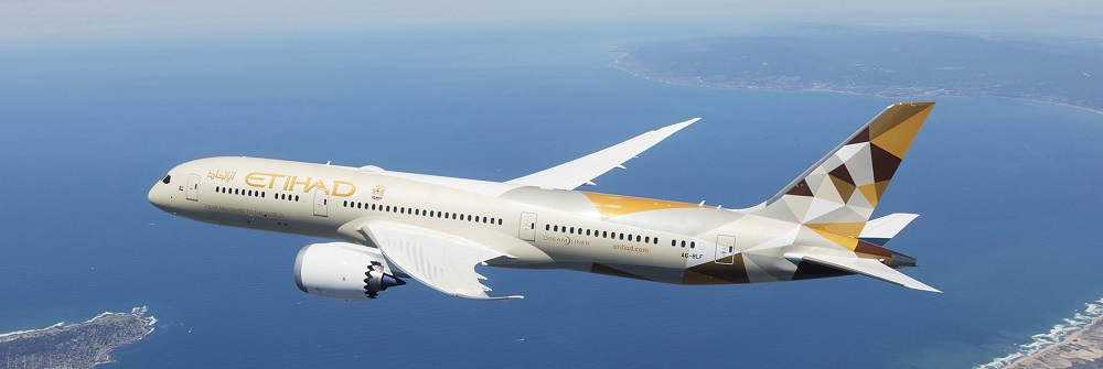 Etihad Airways 787