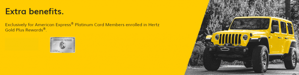 Hertz American Express Platinum Benefits