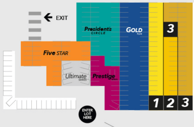 Hertz Ultimate Choice Map