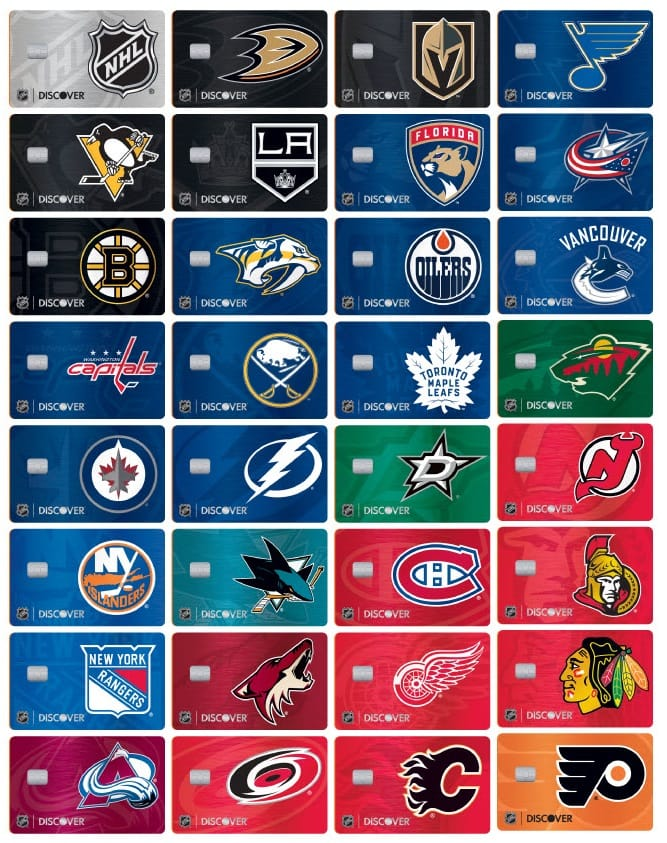 NHL Discover it Card