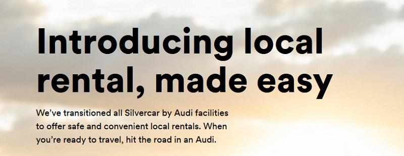 Silver Car Local Rentals