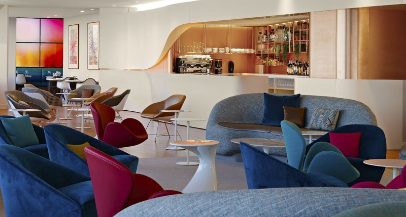 Virgin Atlantic Clubhouse Lounge at LAX