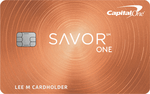 Capital One SavorOne Rewards Credit Card