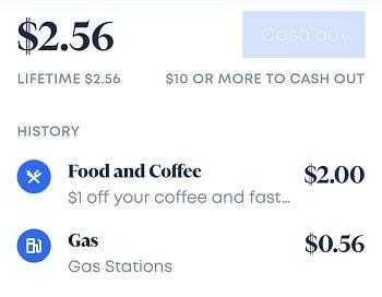 Oxygen Bank Cash Back cash out
