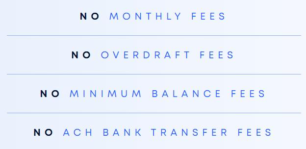 Oxygen Bank No Fees