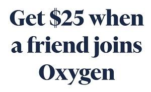 Oxygen Referral Bonus