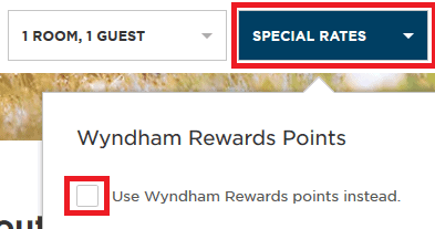 Wyndham Reward Book a Hotel with Rewards Points 1