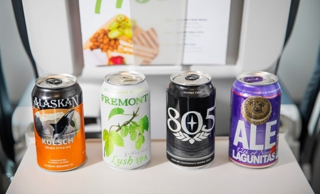 Alaska Airlines Alcoholic Drinks