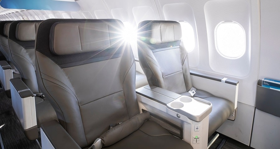 Alaska Airlines First Class Seats