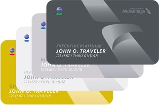 AAdvantage Cards Stacked