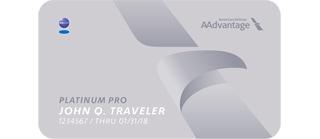 AAdvantage Platinum Pro Card