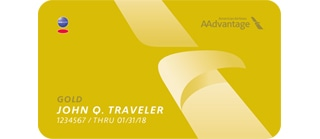 Gold American Airlines elite status