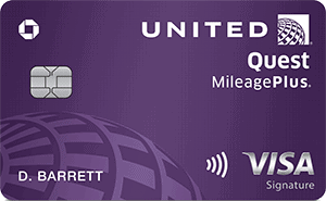 Chase United Quest Card